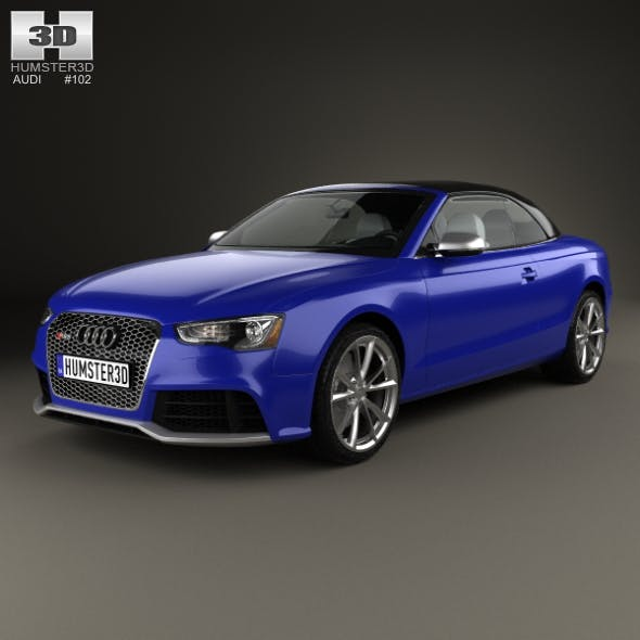 Audi RS5 cabriolet 2012