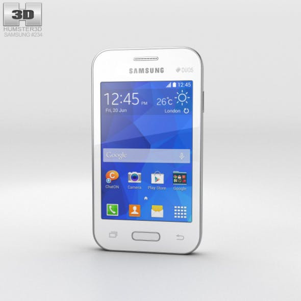 Samsung Galaxy Young 2 White - 3DOcean Item for Sale
