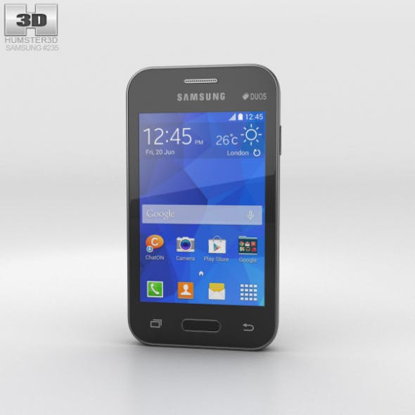 Samsung Galaxy Young 2 Iris Charcoal - 3DOcean Item for Sale