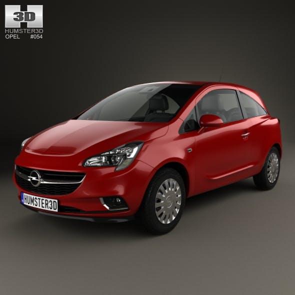 Opel Corsa (E) 3-door 2014 - 3DOcean Item for Sale