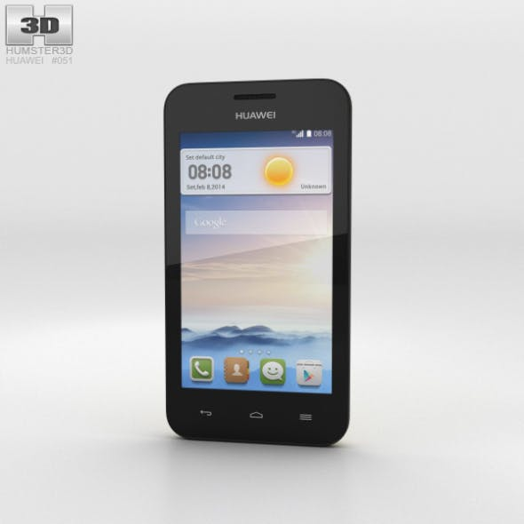 Huawei Ascend Y330 Yellow - 3DOcean Item for Sale