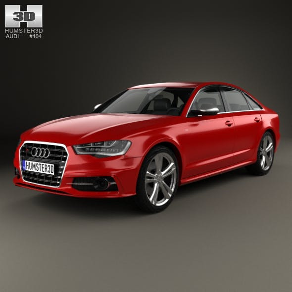 Audi S6 (C7) saloon 2012 - 3DOcean Item for Sale
