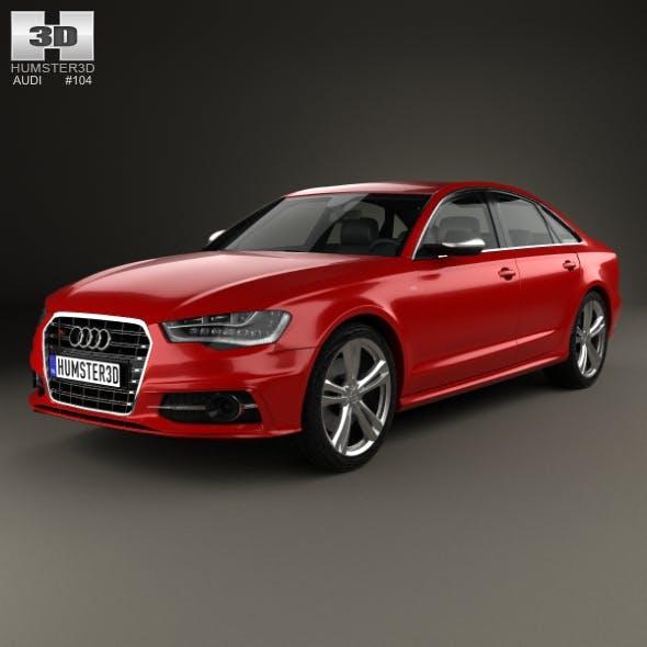 Audi S6 (C7) saloon 2012