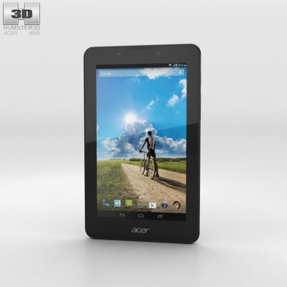 Acer Iconia Tab 7 (A1-713) - 3DOcean Item for Sale