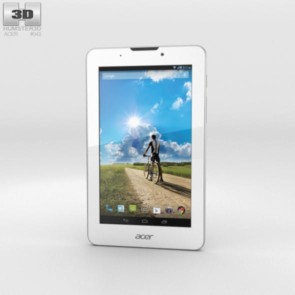 Acer Iconia Tab 7 (A1-713HD) - 3DOcean Item for Sale