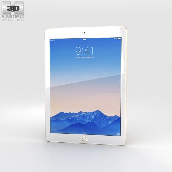 Apple iPad Air 2 Cellular 24K Gold - 3DOcean Item for Sale