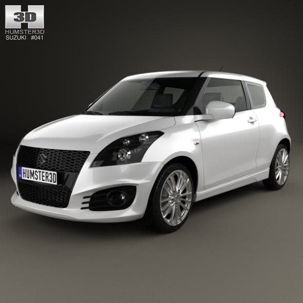 Suzuki Swift Sport hatchback 3-door 2014 - 3DOcean Item for Sale