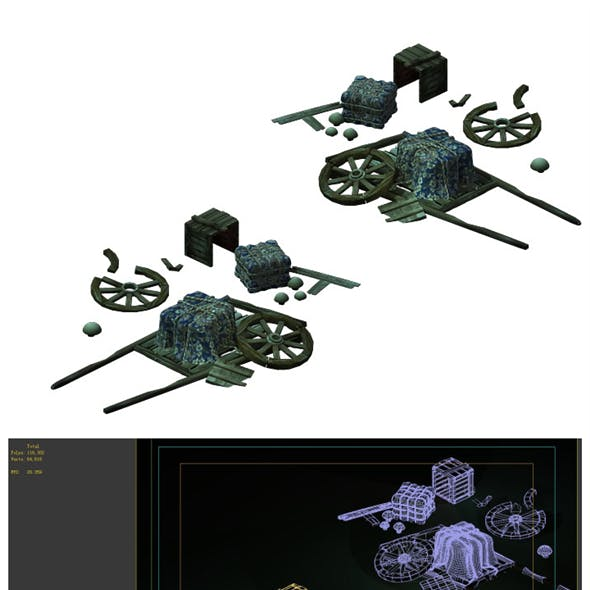 Game Models - Broken Wagons