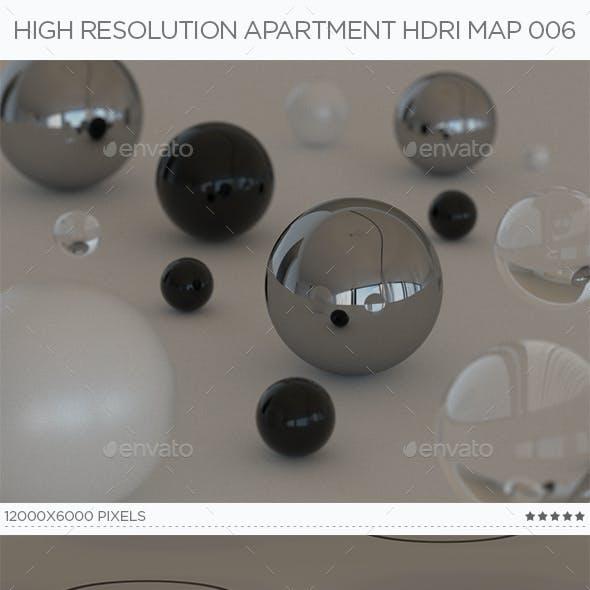 High Resolution Apartment HDRi Map 006