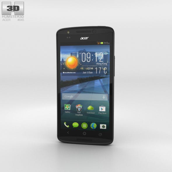 Acer Liquid E700 Titan Black