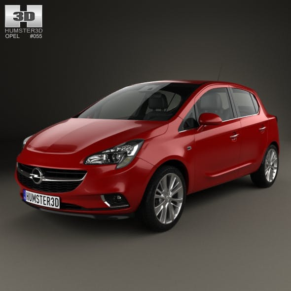 Opel Corsa (E) 5-door 2014 - 3DOcean Item for Sale