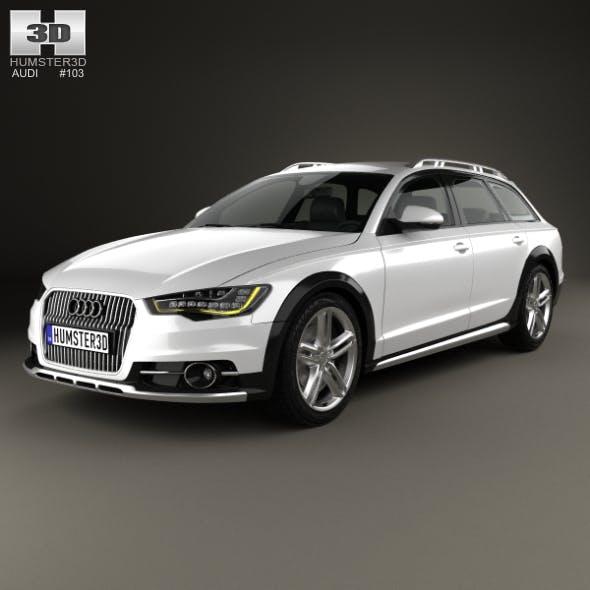 Audi A6 (C7) allroad quattro 2012 - 3DOcean Item for Sale