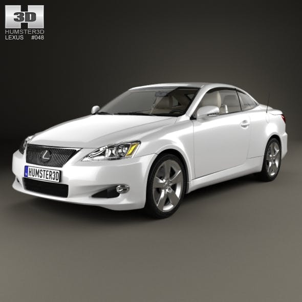 Lexus IS (XE20) with HQ interior 2010 - 3DOcean Item for Sale