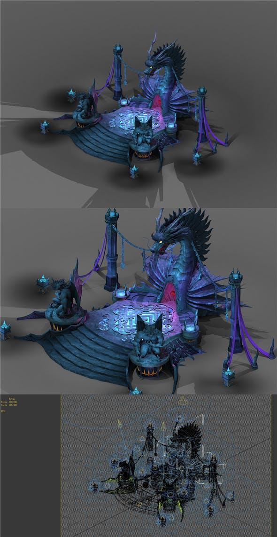 Game Model - Send - Dragon Shape - 3DOcean Item for Sale