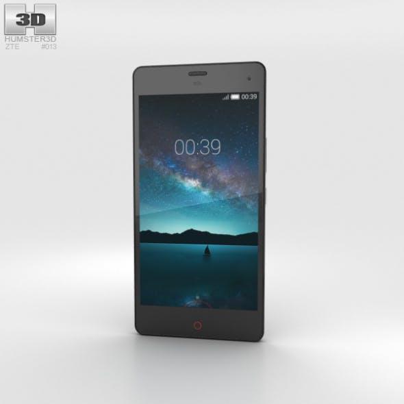 ZTE Nubia Z7 Mini Black - 3DOcean Item for Sale