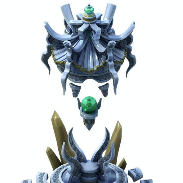 Game Model - Defense Stone Pagoda
