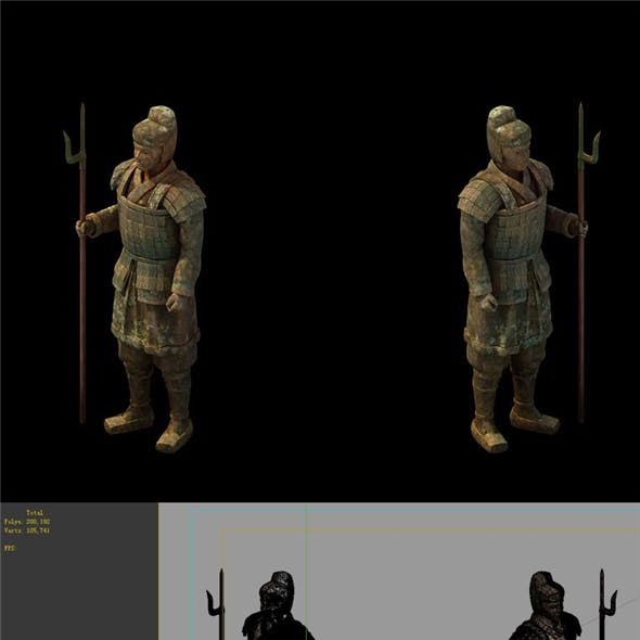 Game Model - Tomb of the Terracotta Warriors
