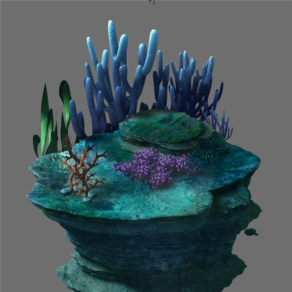 Game Model - Seabed - Seabed Reef