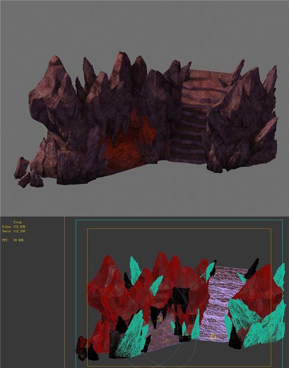 Game Model - Red Shek Pik 2 - 3DOcean Item for Sale