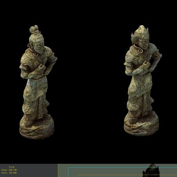 Game Model - Imperial Tombs  Funeral objects 02