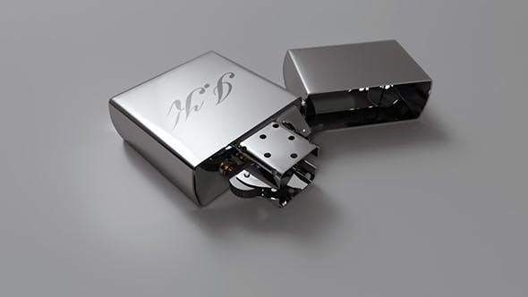 Zippo lighter - 3DOcean Item for Sale