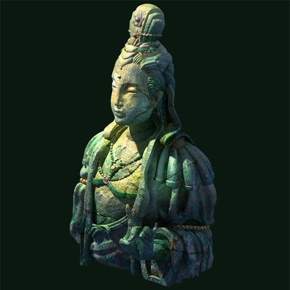 Game Model - Buddha statue of Buddha Kasai
