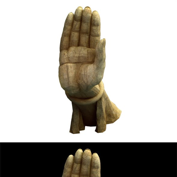 Game Model - Buddha statue of the Kasabe Buddha Forest