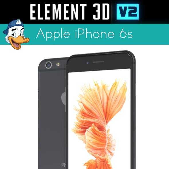 Apple iPhone 6S for Element 3D
