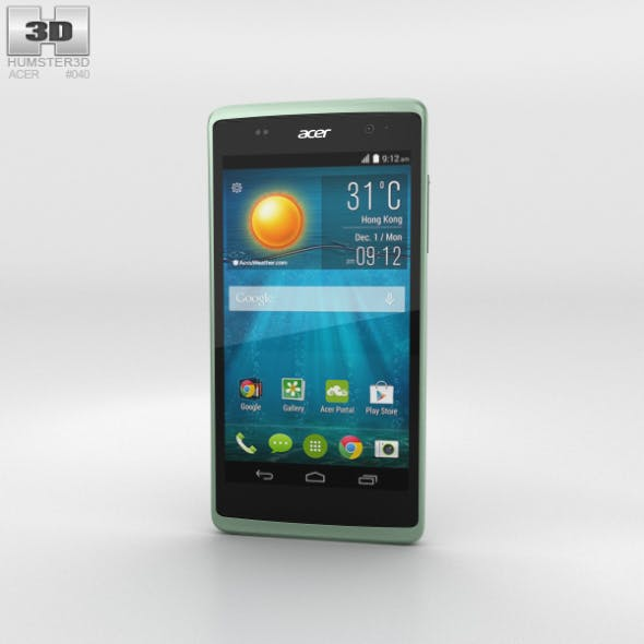 Acer Liquid Z500 Aquamarine Green