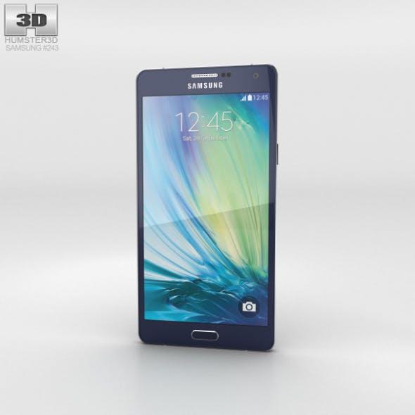 Samsung Galaxy A7 Midnight Black - 3DOcean Item for Sale