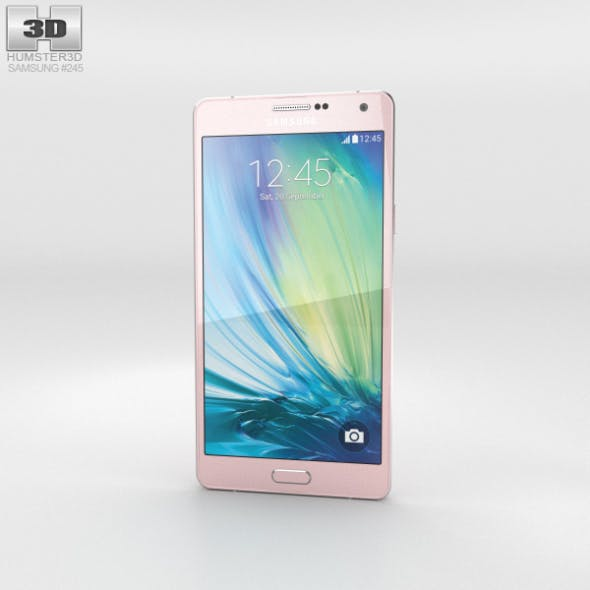 Samsung Galaxy A7 Soft Pink - 3DOcean Item for Sale