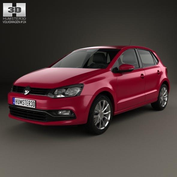 Volkswagen Polo 5-door 2014 - 3DOcean Item for Sale