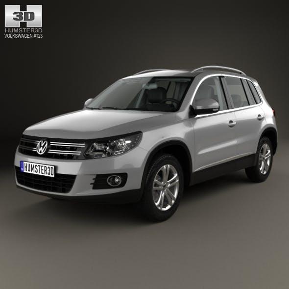 Volkswagen Tiguan Sport & Style with HQ interior 2012