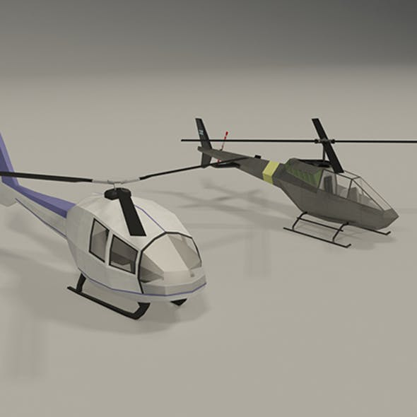 Lowpoly Helicopters