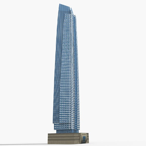 DAMAC Ocean Heights Tower - 3DOcean Item for Sale