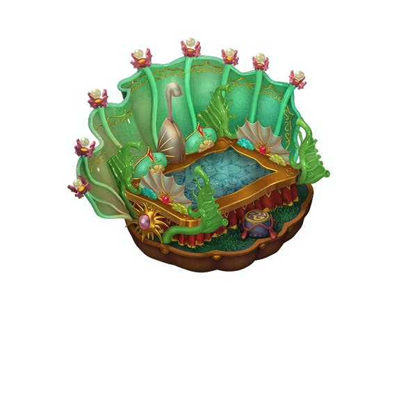 Game Model - Family Objects - Bilolong King Bed