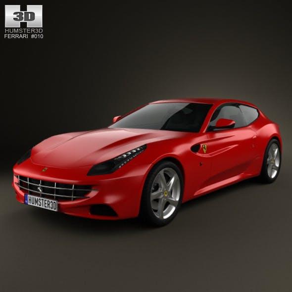 Ferrari FF 2011  - 3DOcean Item for Sale