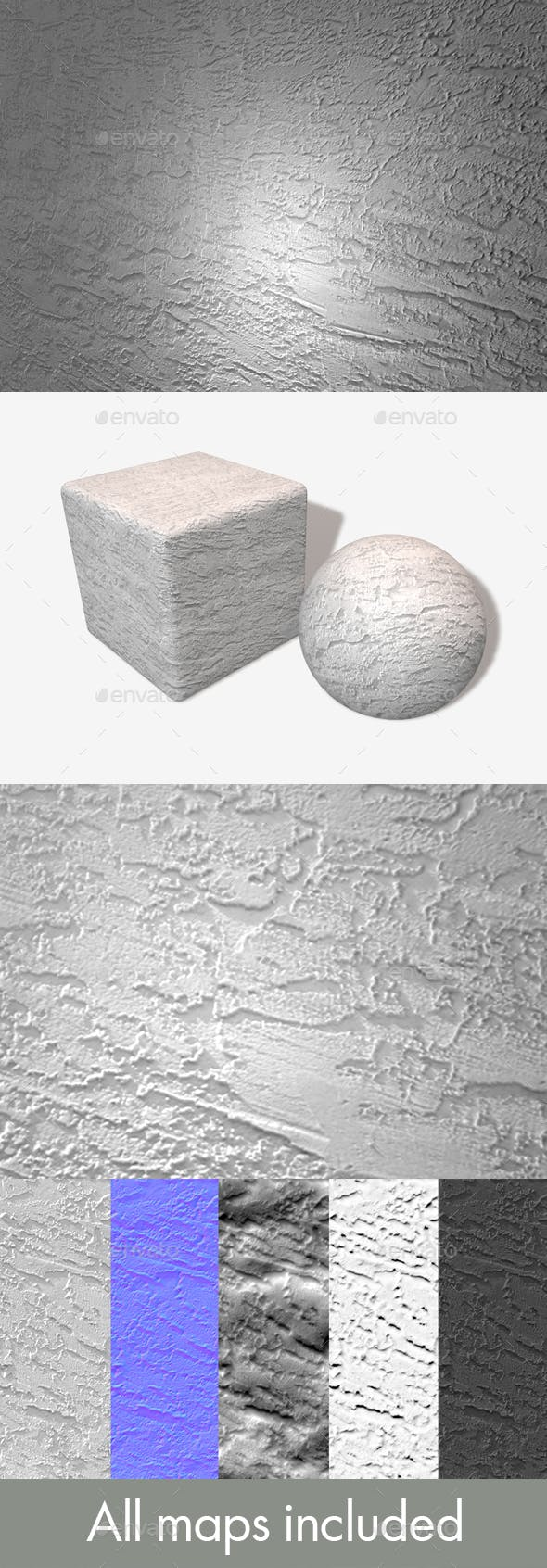 Textured White Wall Seamless - 3DOcean Item for Sale