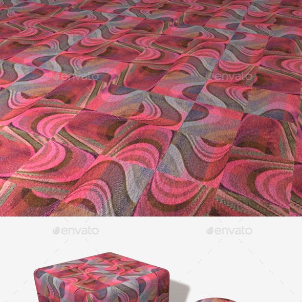 Psychedelic Pink Carpet Seamless Texture