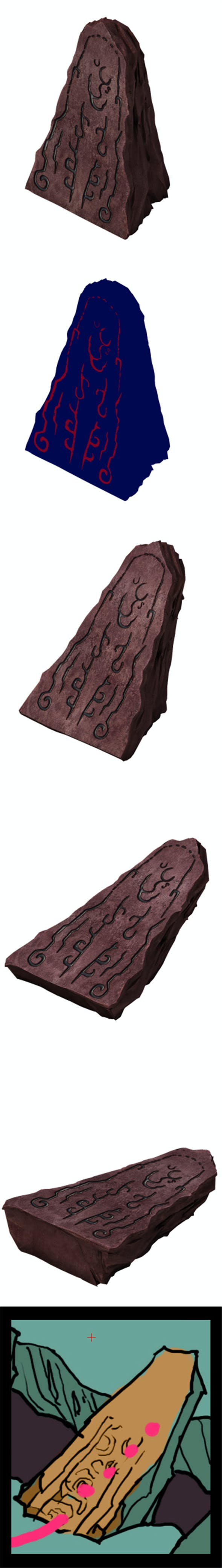 Game Model - Rune with Rune - 3DOcean Item for Sale