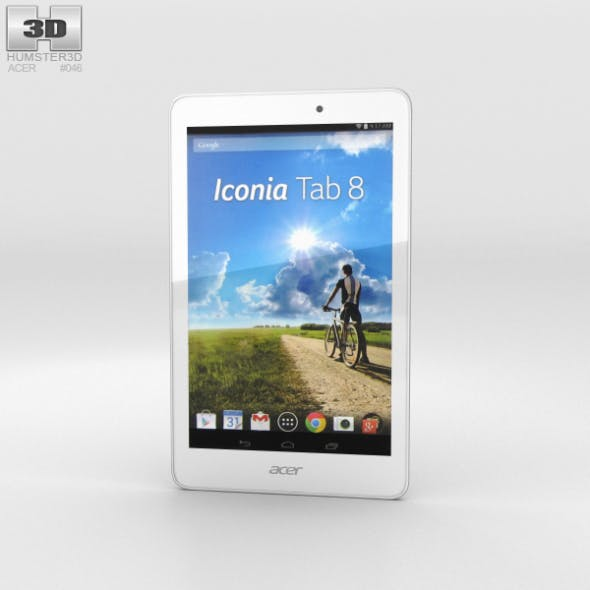Acer Iconia Tab 8 - 3DOcean Item for Sale