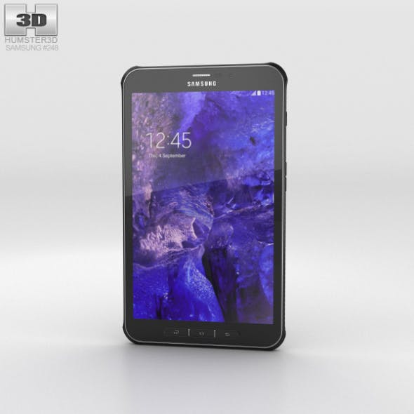 Samsung Galaxy Tab Active Titanium Green - 3DOcean Item for Sale