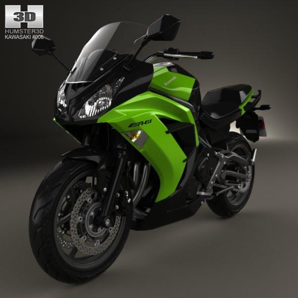 Kawasaki Ninja 650R (ER-6f) 2014 - 3DOcean Item for Sale