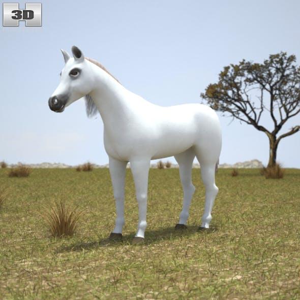 Arabian Horse - 3DOcean Item for Sale