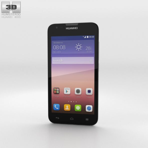 Huawei Ascend Y550 White - 3DOcean Item for Sale