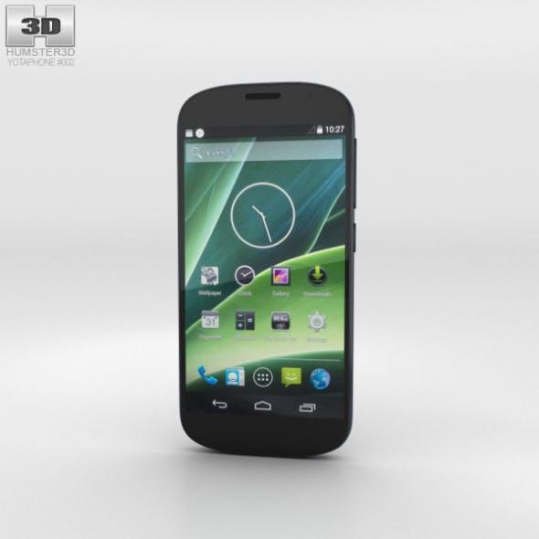 YotaPhone 2 Black - 3DOcean Item for Sale