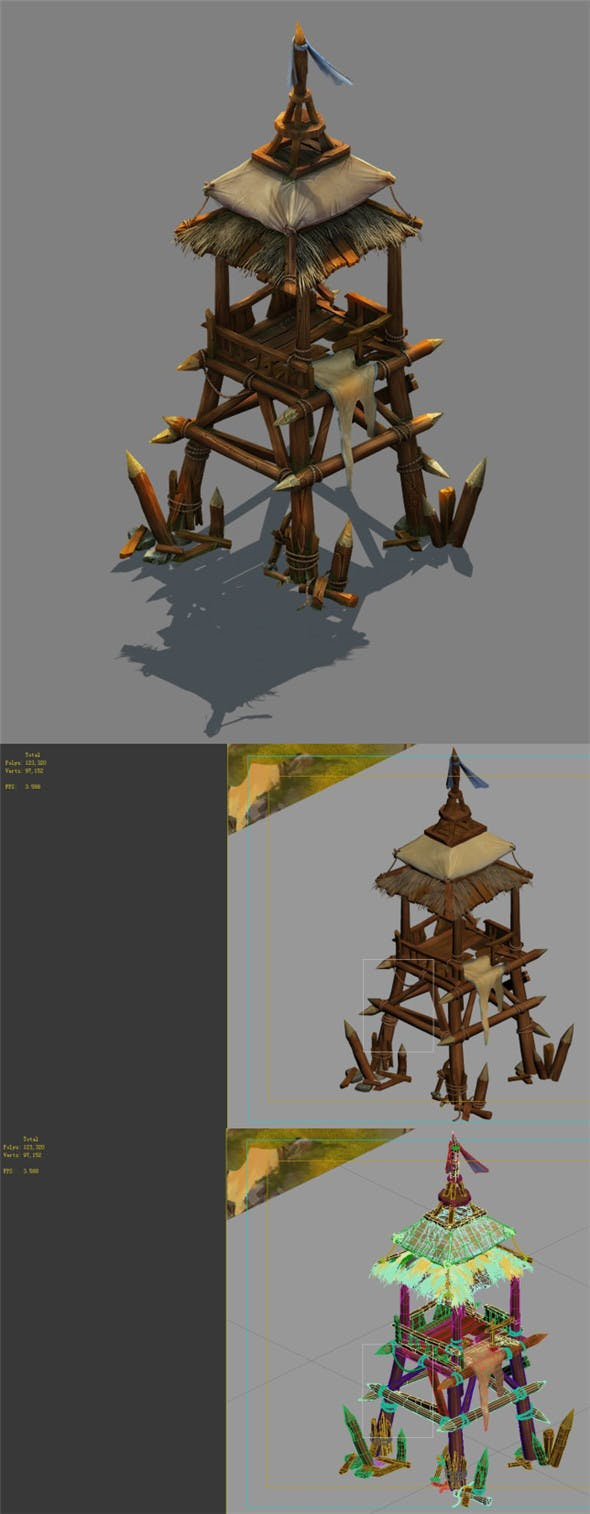 Field - Zhuojun Army Sentinel 01 - 3DOcean Item for Sale