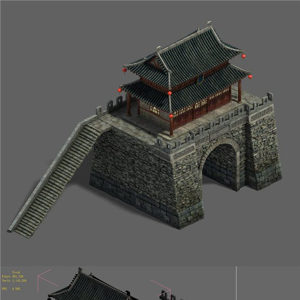 Medium city - city gate