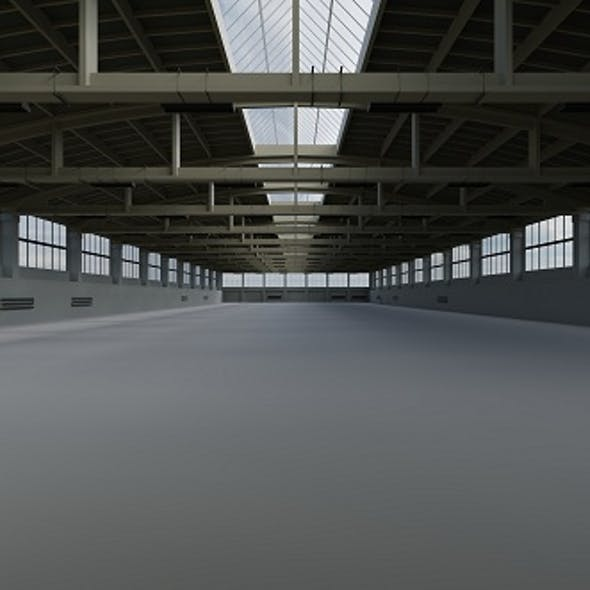 Factory Hall Interior 2