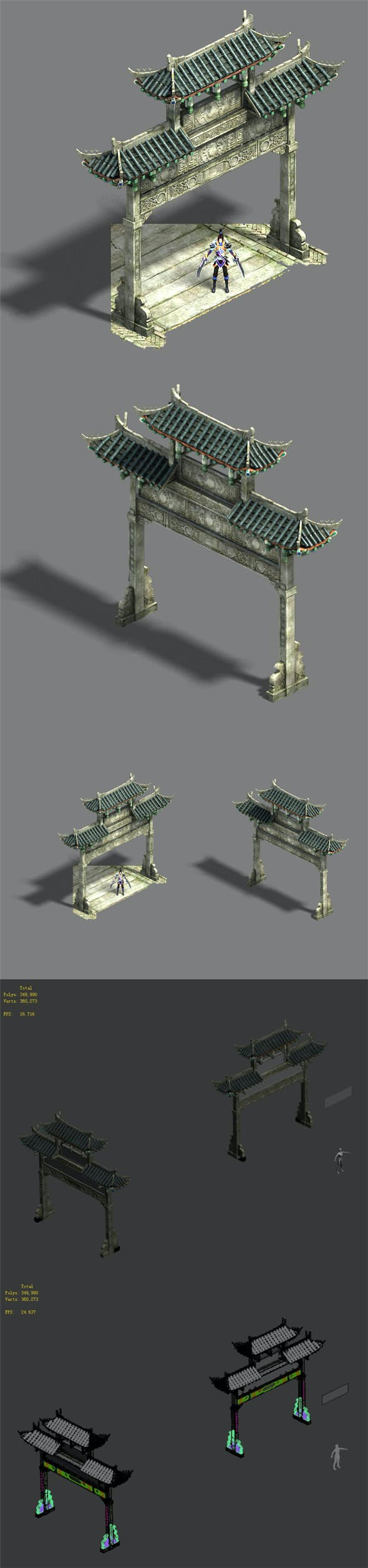Medium city - arch - 3DOcean Item for Sale